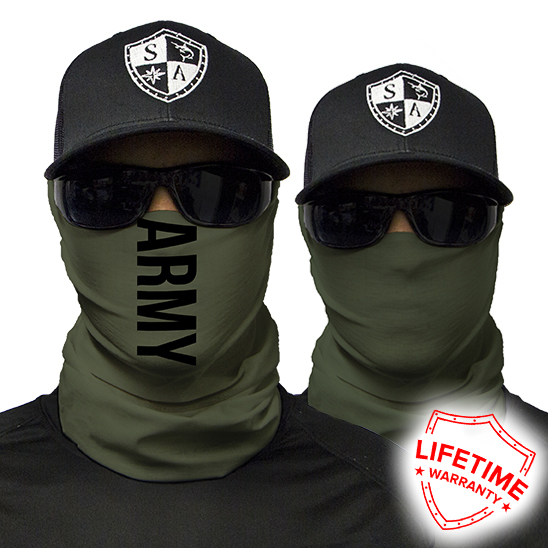 ARMY-GREEN bandana