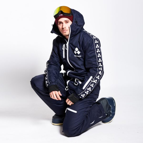 One Piece skisuit Oneskee navy