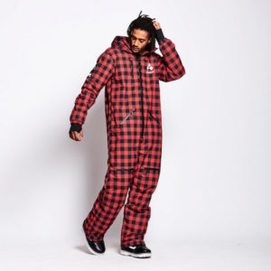 OneSkee original Pro suit Red Plaid