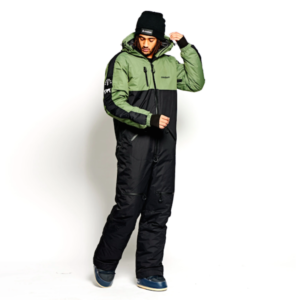 One Piece skisuit Oneskee olive black