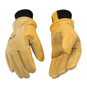 Kinco cold weather vintage motorcycle gloves
