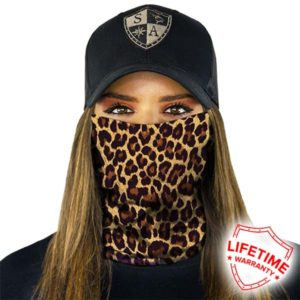 Faceshield Cheeta Luipaard