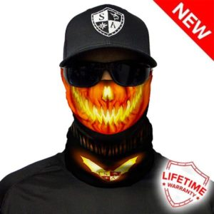 Halloween Bandana Faceshield