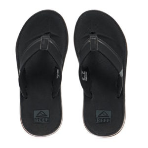 Reef Fanning Low slipper heren zwart