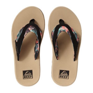 Reef dames slippers met bieropener