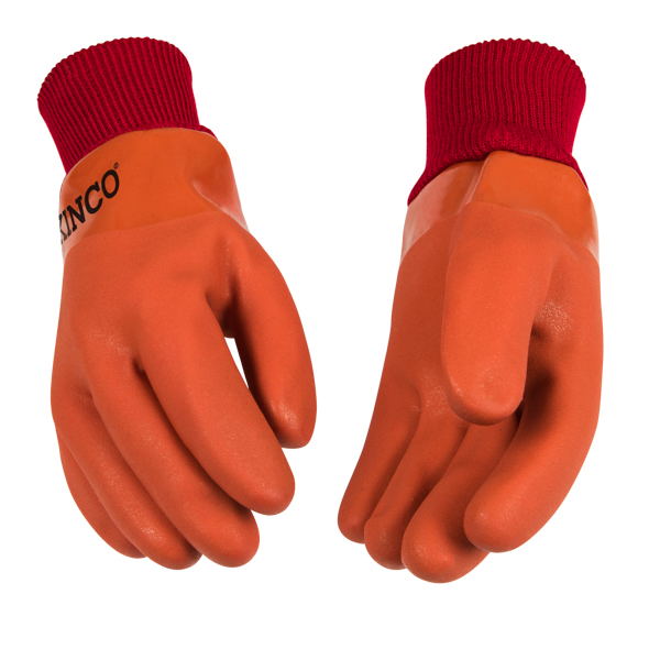 Chemical resistant gloves lined